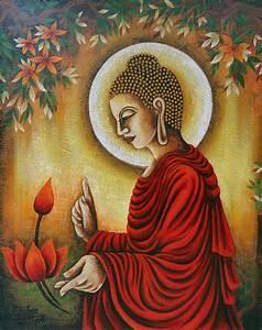 Lord Buddha by Chitra Singh