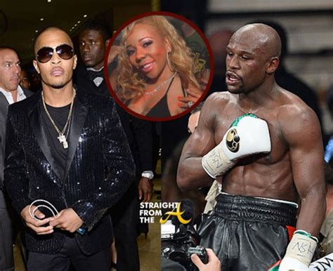 T.i. Vs. Floyd Mayweather Fight Hits Espn's 'first Take
