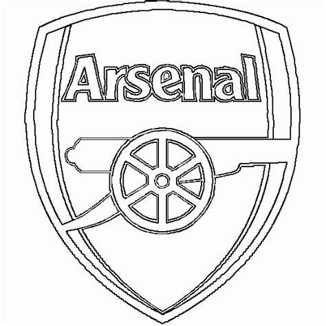 Kleurplaat Arsenal by Kleurplaat Real Madrid Logo Kleurplaat Uefa Chions