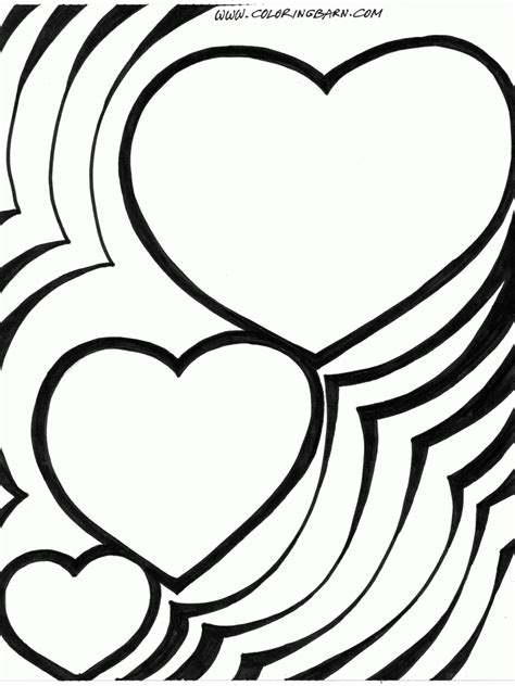 hearts coloring pages  coloring pages
