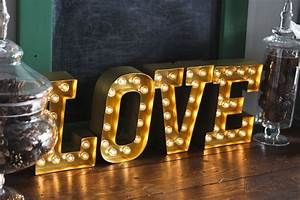 love marquee letters honeybear lane With marquee love letters