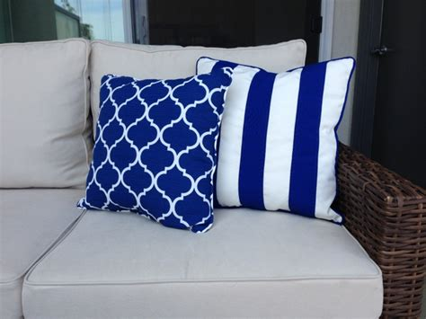 outdoor nautical cushions