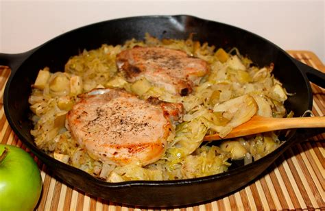 cuisine r騏nion savory moments pork chop and sauerkraut casserole