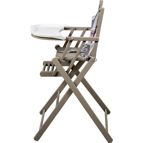 chaise haute b b pliante chaise haute bébé pliante gris de combelle chez