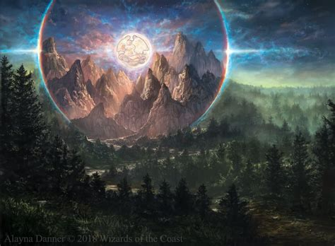 Alpine Moon From Core Set 2019 Set By Alayna