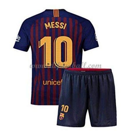 Unisport ist dein fußballspezialist und hat das, was du auf dem platz brauchst. Barcelona Fußballtrikots Kinder 2018-19 Lionel Messi 10 ...