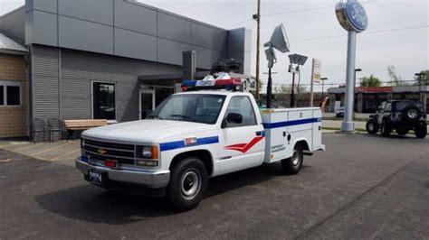 1988 Chevrolet Ck 2500 Emergency Management Vehicle V6