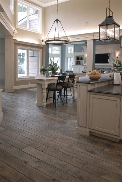 Traditional Kitchen In Chicago, Hardwood Floors By