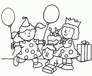 free printable birthday coloring pages - free printable happy birthday coloring pages 24 image