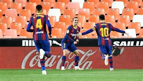 Barcelona vs. Valencia (3-2): goles de Lionel Messi, video ...