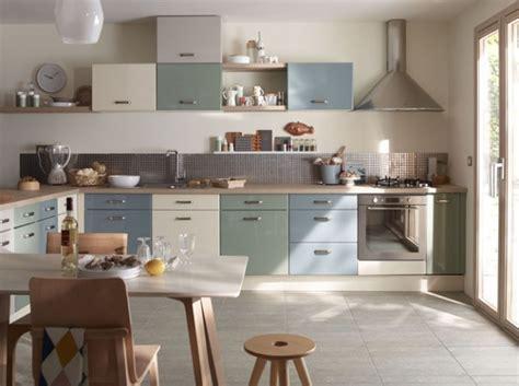 cuisine bois gris mobilier au design vintage scandinave relooker meubles