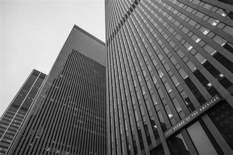 Schwarz Weiß In New York Fotos