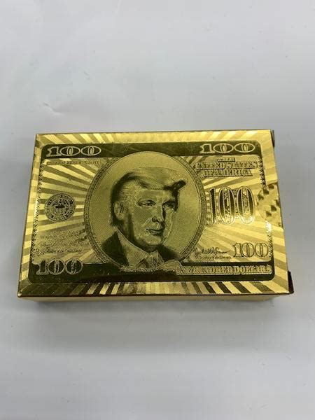 Jan 20, 2017 · for his achievements as u.s. Gold Donald Trump playing cards - The Dixie Shop