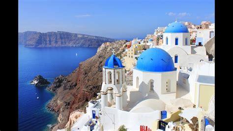 Santorini Greek Islands Youtube
