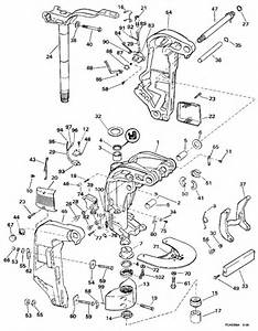 Evinrude Midsection Parts For 1997 130hp E130tleub