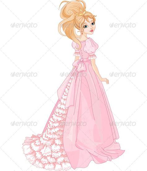 Beautiful Princess Clip Art