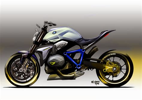 Bmw Concept Roadster Motorcycle Sketches Photos Latest