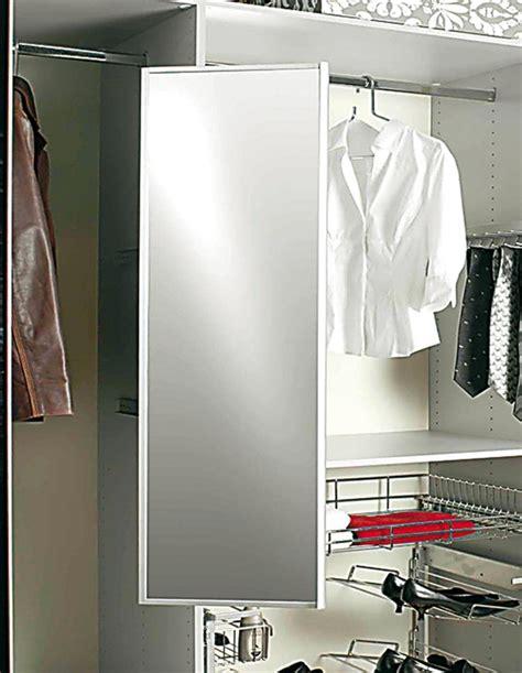 wardrobe pull  pivoting mirror