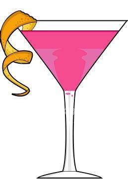 pink cliparts cosmopolitan   clip art