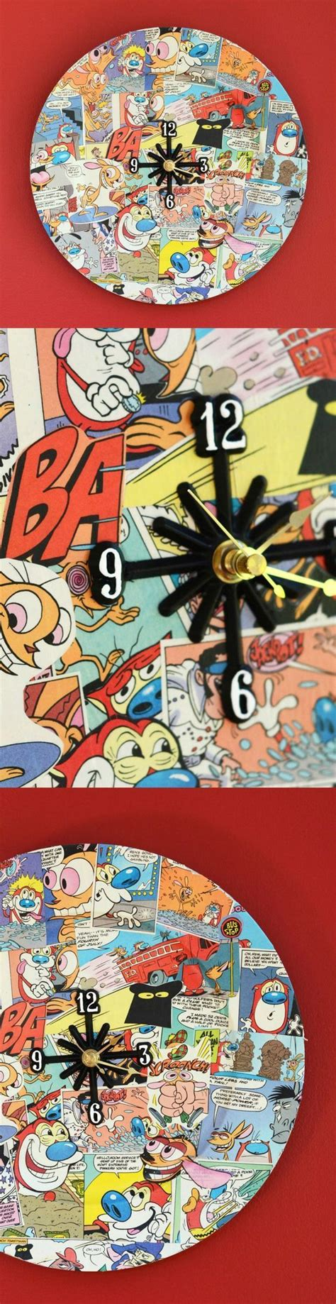 perfect gift for comic book fan clock comic and the o 39 jays on pinterest