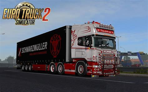 scania rs 6 series rjl white custom skin combo pack accessory parts ets2 mods
