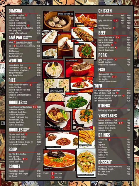 cuisine menu suzhou eastern cuisine bgc shoot me again sir