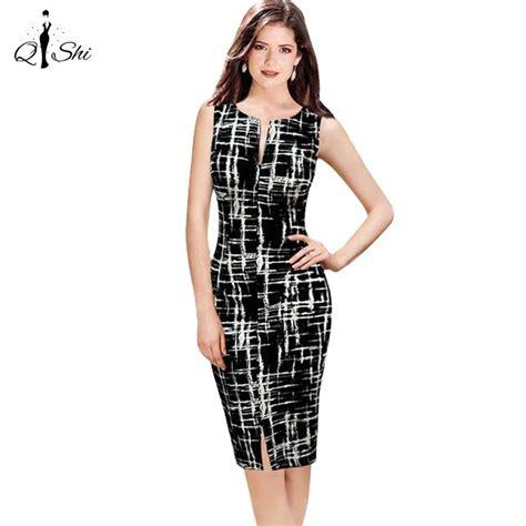 robe de bureau pas cher 2016 casual femmes robe moulante femmes imprimée