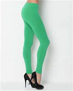 Papillon Green Stretch Women s Leggings in Leggings