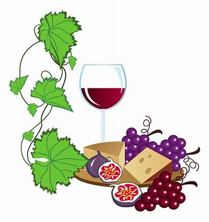 Wine Grapes Clipart Tasting Vector Clip Vineyard