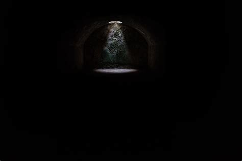 images light night hole tunnel dark