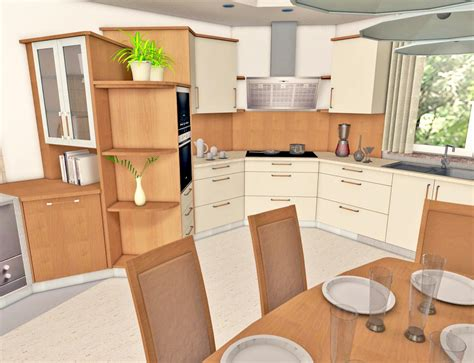 cuisine decorative kitchen design interiorcad for vectorworks