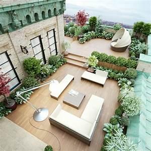 Terrasse Dekorieren Modern : terrassengestaltung beispiele die sie inspirieren bilder ~ Fotosdekora.club Haus und Dekorationen