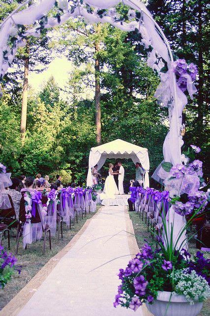 Best 25 Purple Outdoor Weddings Ideas On Pinterest