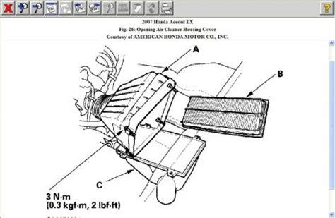 2007 honda accord cabin air filter 2007 honda accord air filter where is the engine air