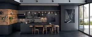 Ilot De Cuisine : cuisine moderne ilot fj23 jornalagora ~ Teatrodelosmanantiales.com Idées de Décoration
