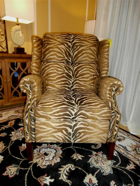 Animal Print Recliner At The Missing Piece