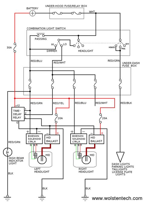 Dodge Headlight Relay Wiring Diagram by 2012 Dodge Ram 2500 Headlight Wiring Diagram Www