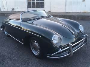 Porsche 356 Speedsters For Sale by Porsche 356 Convertible 1958 Green For Sale 84555 1958