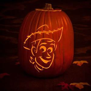 Woody Pumpkin Carving Template | Disney Family