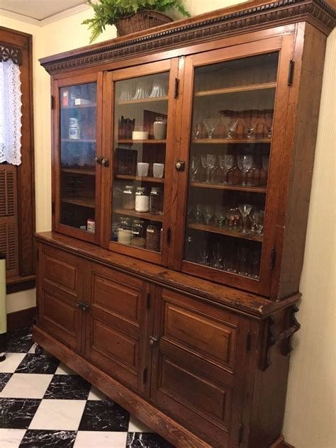 Cupboard Shop by Antique Early 1900 S Pine General Store Cabinet Butler S
