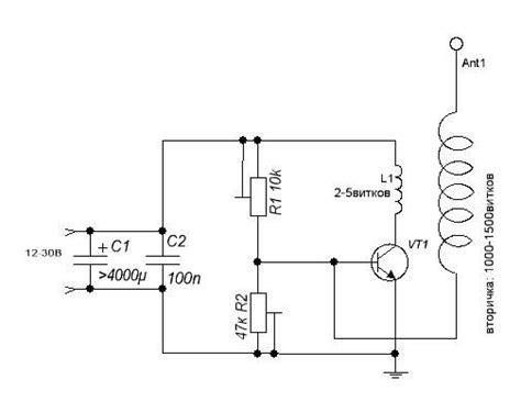 Качер бровина на полевом транзисторе diytimes