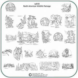 North American Wildlife – Classic Carving Patterns