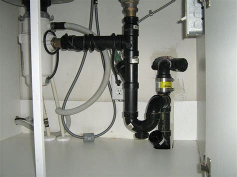 plumbing a garbage disposal in a double sink double kitchen sink with garbage disposal and dishwasher