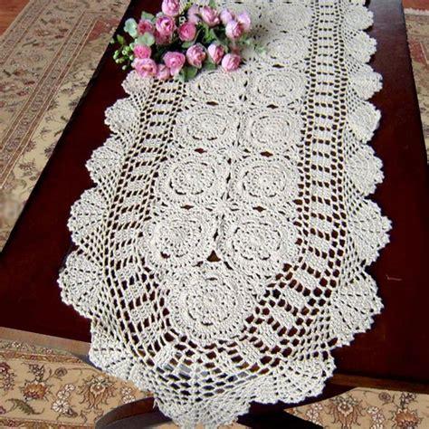 size quilt crochet runner