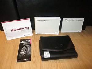 2017 Kia Sorento Owner U2019s Manual Set