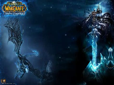 Wrath Of The Lich King Animated Wallpaper - wotlk dreamscene arthas and sindragosa