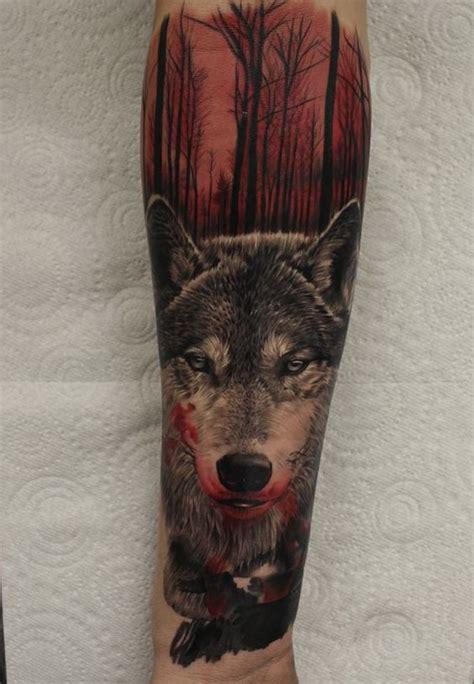 tatuajes de lobos imagenes disenos  significados
