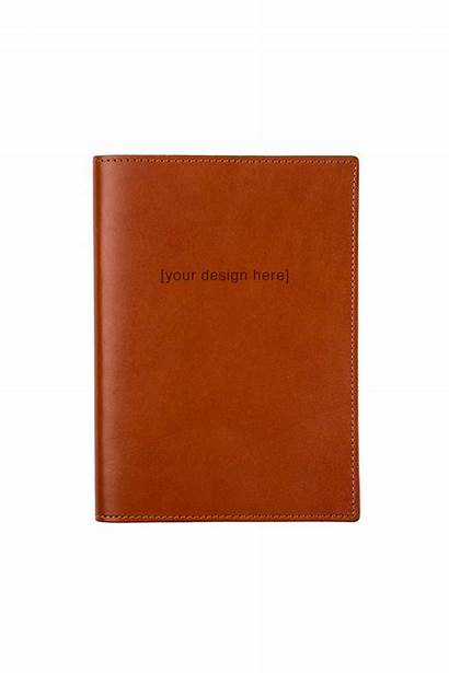 Journal Leather Cognac Moms Gold Foto Personalized