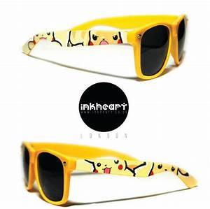 sunglasses pokemon pikachu custom wayfarers