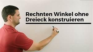Rechten Winkel Abstecken Schnur : rechten winkel ohne geodreieck konstruieren interessantes ~ Lizthompson.info Haus und Dekorationen